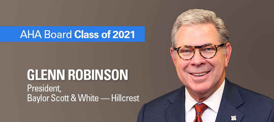 Baylor Scott & White — Hillcrest's Robinson leads patient