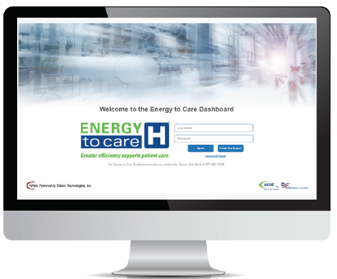 Energy to Care Dashboard image